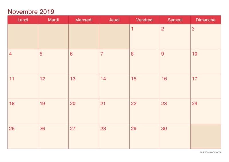 Agenda 2019 Calend22