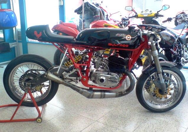 Bultaco café racer Bultac10