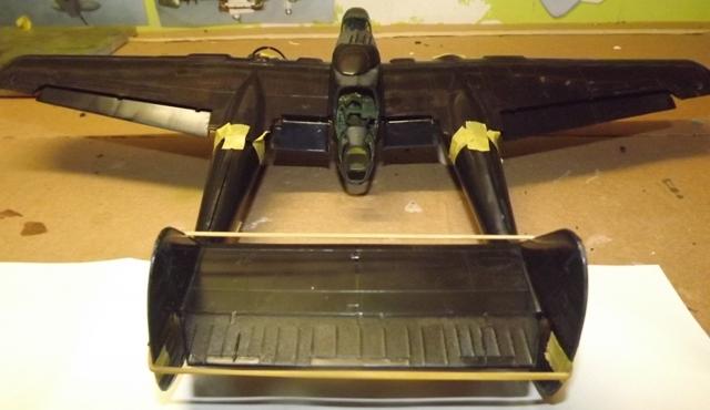P-61A Black Widow 1/48 MONOGRAM Colage12