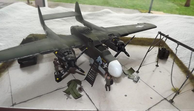 P-61A Black Widow 1/48 MONOGRAM Dio_110