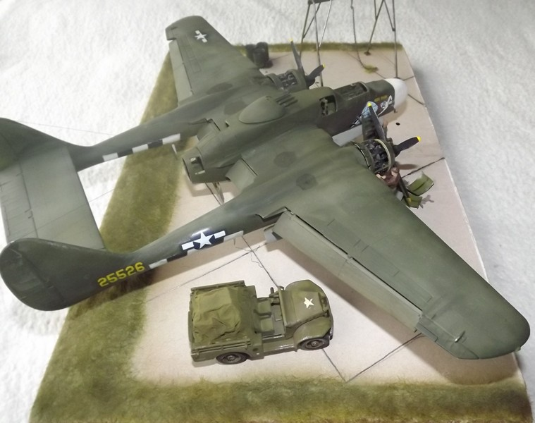 P-61A Black Widow 1/48 MONOGRAM Dio_410