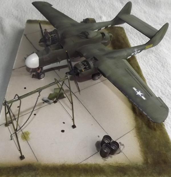 P-61A Black Widow 1/48 MONOGRAM Dio_610