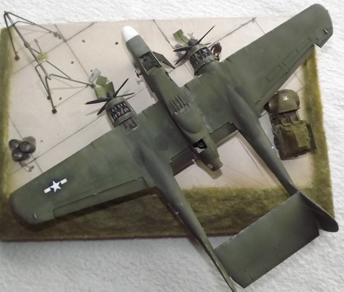 P-61A Black Widow 1/48 MONOGRAM Dio_810