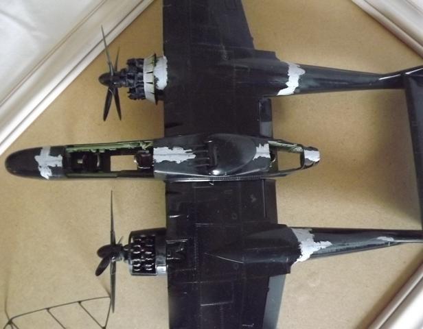 P-61A Black Widow 1/48 MONOGRAM Dscf5524