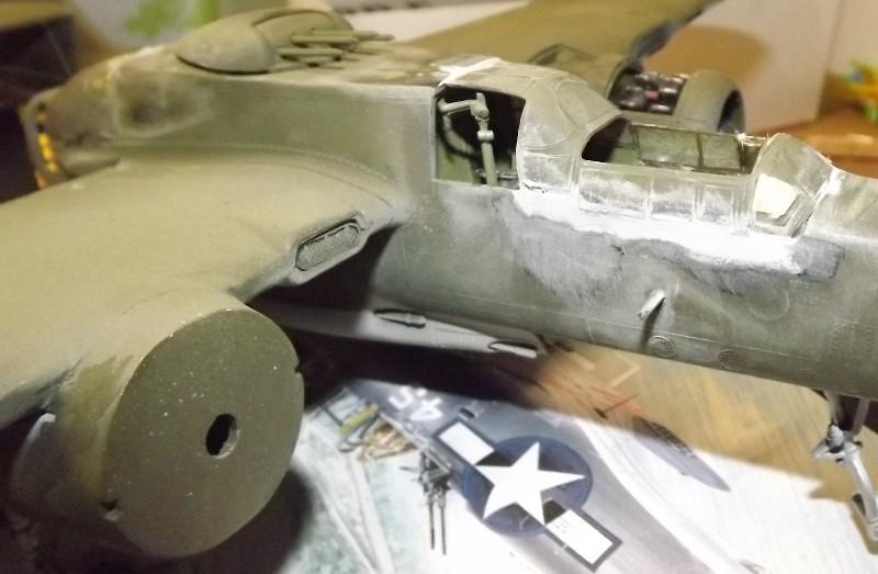 P-61A Black Widow 1/48 MONOGRAM Mastic11