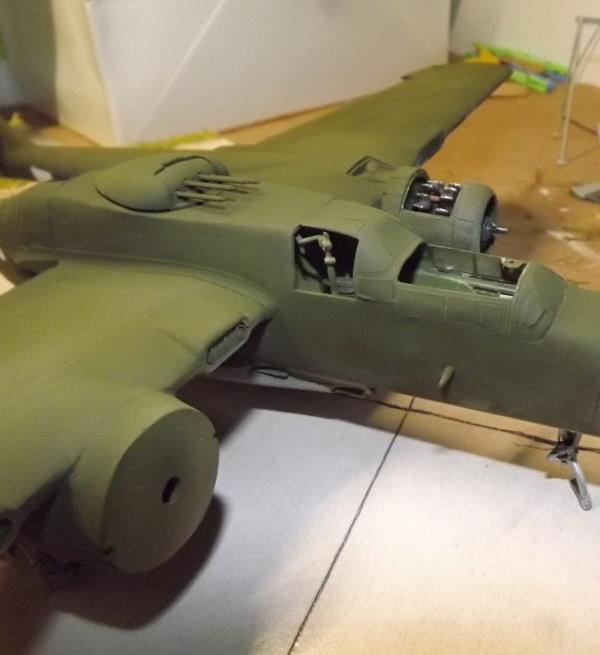 P-61A Black Widow 1/48 MONOGRAM Mastic14