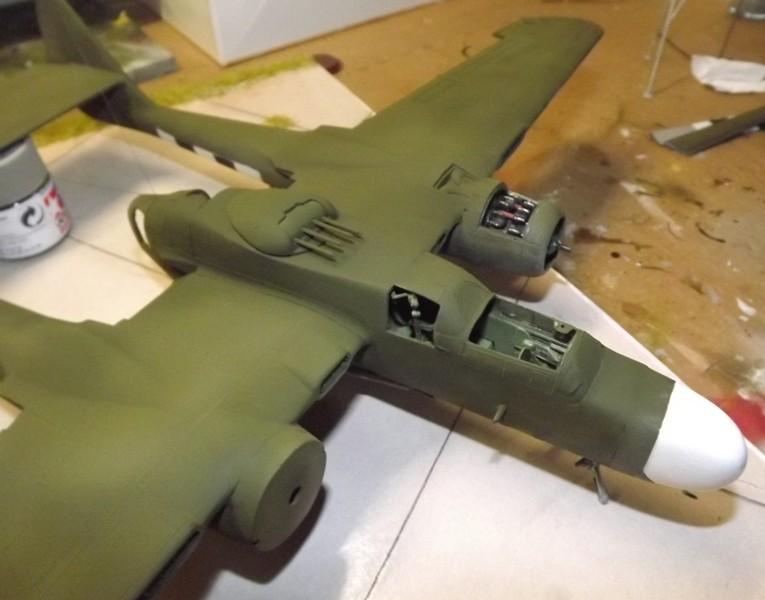 P-61A Black Widow 1/48 MONOGRAM Mastic16
