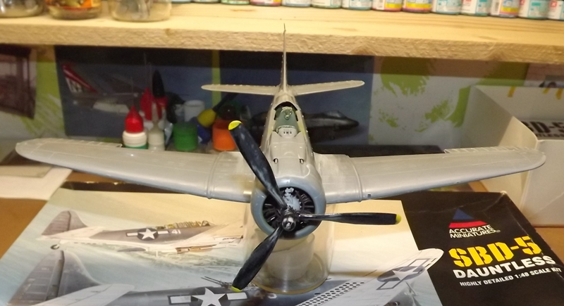 SBD-5 DAUNTLESS 1/48 INDOCHINE... Moteur10