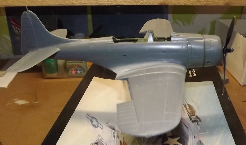 SBD-5 DAUNTLESS 1/48 INDOCHINE... Moteur11