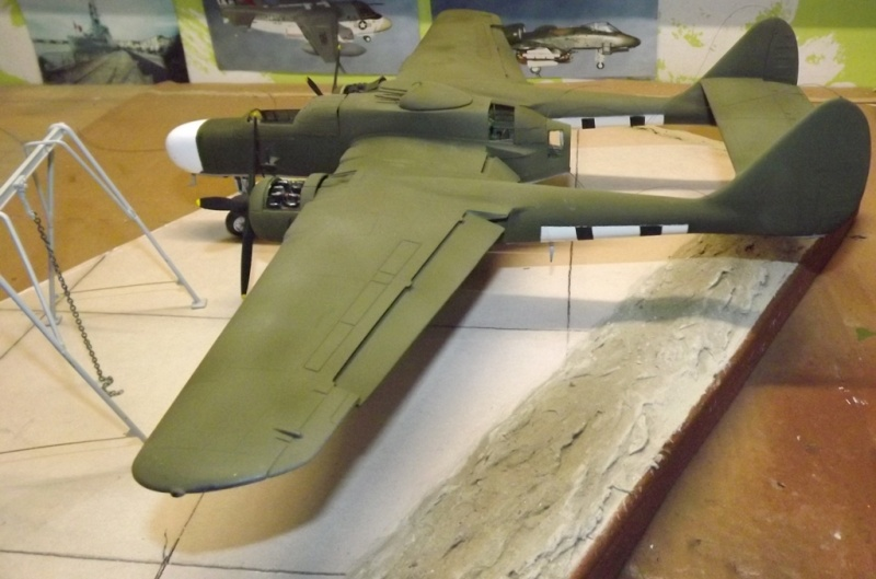 P-61A Black Widow 1/48 MONOGRAM Peintu12