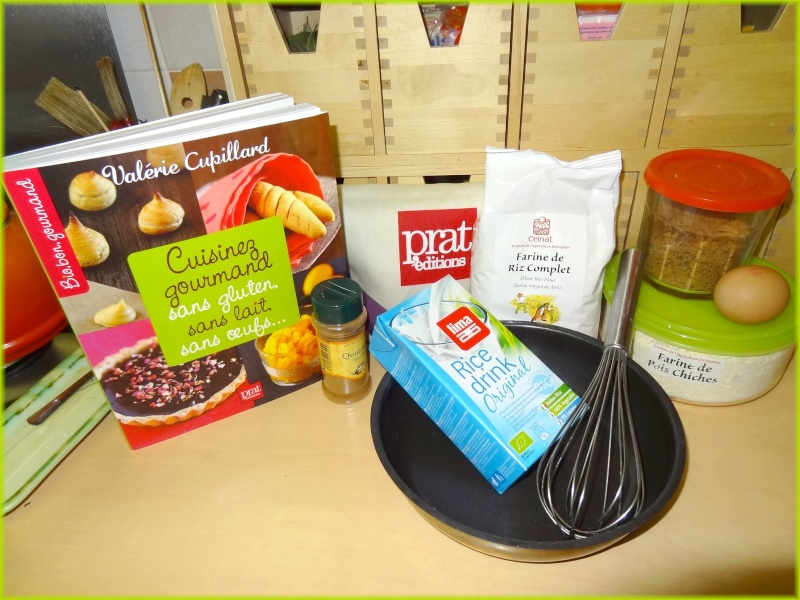 CUPILLARD Valérie : Cuisinez gourmand sans gluten, sans lait, sans oeufs,... Dsc01510