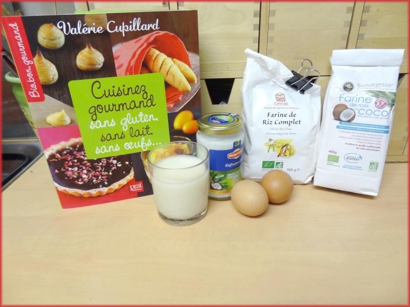 CUPILLARD Valérie : Cuisinez gourmand sans gluten, sans lait, sans oeufs,... Dsc01710