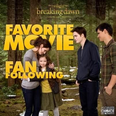 Favorite Movie Fan Following Twilight premios people choice awards 2013 40976210