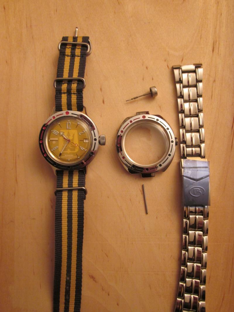 Vostok Neptune, le problème du bracelet, qui a une solution? 00412