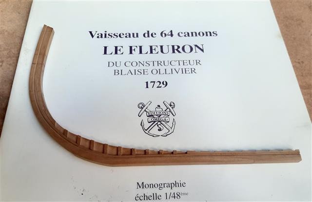 Le Fleuron Sezione di prua 1:72 (Legrottaglie Angelo) R2021014