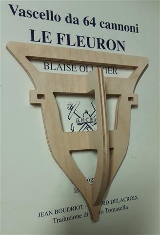 Le Fleuron Sezione di prua 1:72 (Legrottaglie Angelo) R2021020