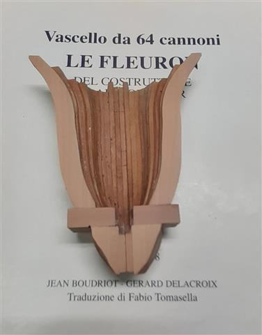 Le Fleuron Sezione di prua 1:72 (Legrottaglie Angelo) R2021023