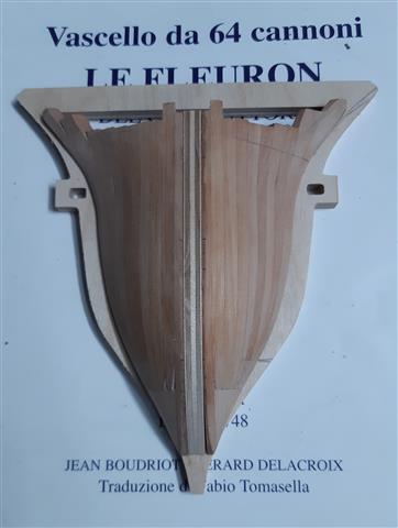 Le Fleuron Sezione di prua 1:72 (Legrottaglie Angelo) R2021024