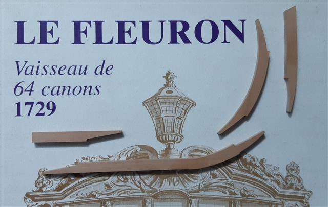 Le Fleuron Sezione di prua 1:72 (Legrottaglie Angelo) Rim20277