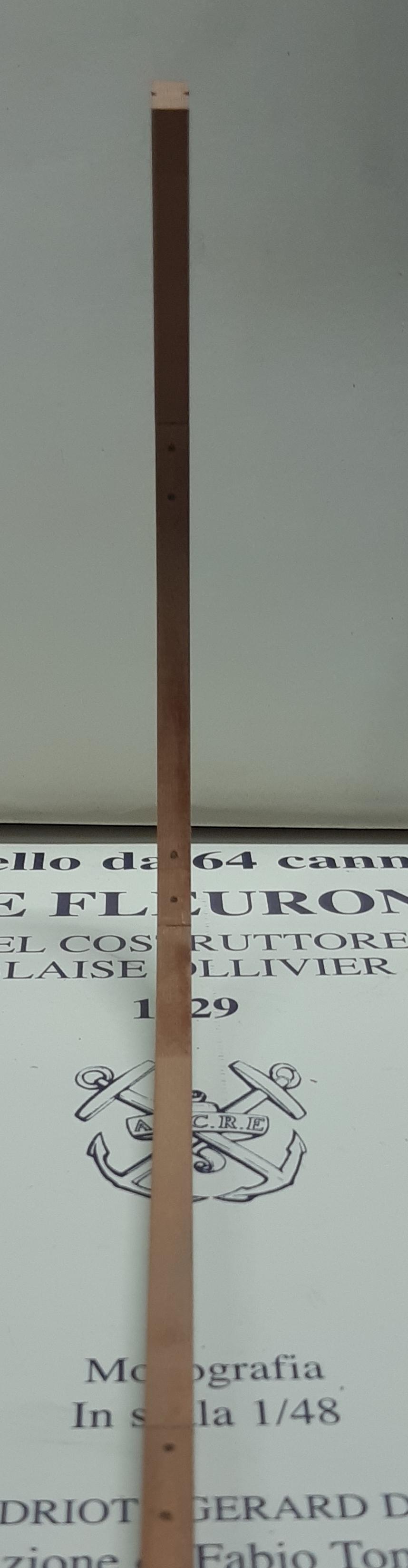 Le Fleuron Sezione di prua 1:72 (Legrottaglie Angelo) Rim20283