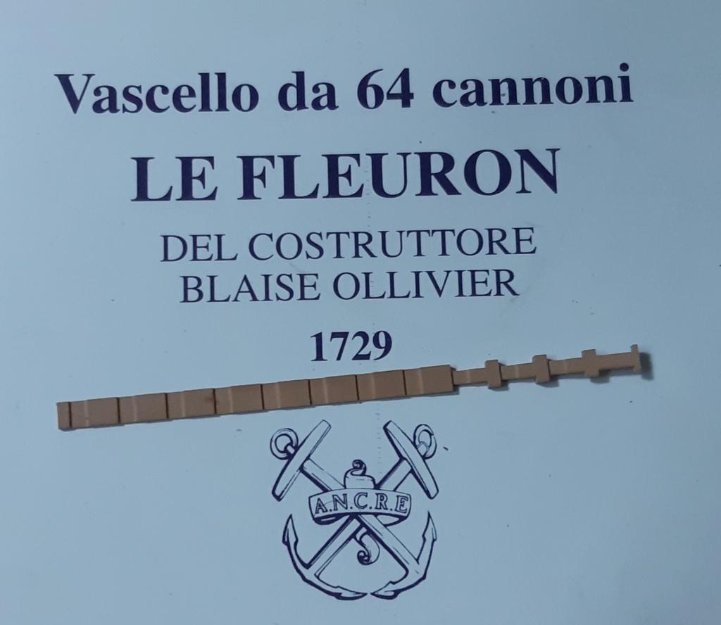Le Fleuron Sezione di prua 1:72 (Legrottaglie Angelo) Rim20291