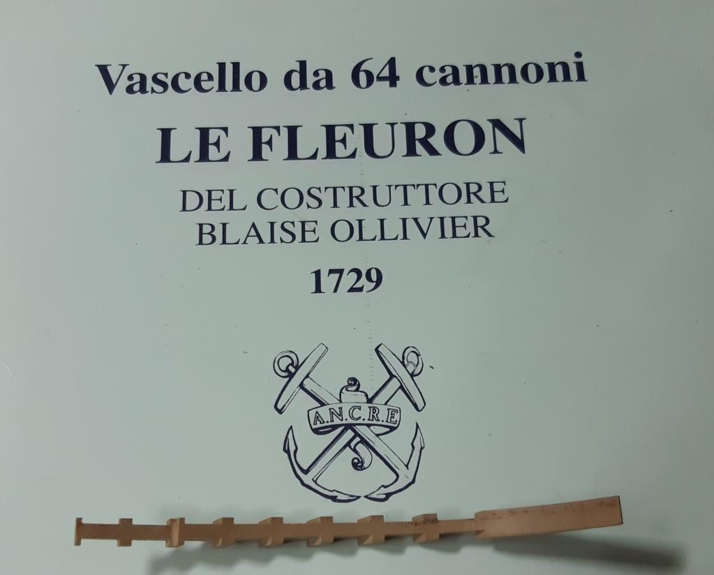 Le Fleuron Sezione di prua 1:72 (Legrottaglie Angelo) Rim20292
