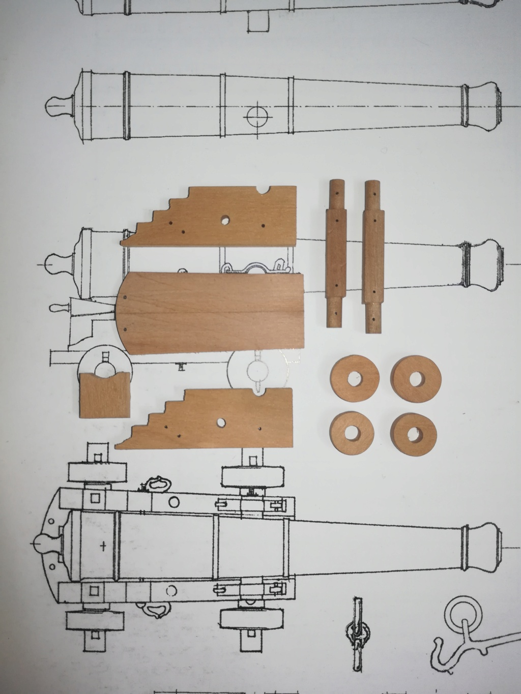 piani - La Belle 1684 scala 1/24  piani ANCRE cantiere di grisuzone  - Pagina 9 Rimg_114