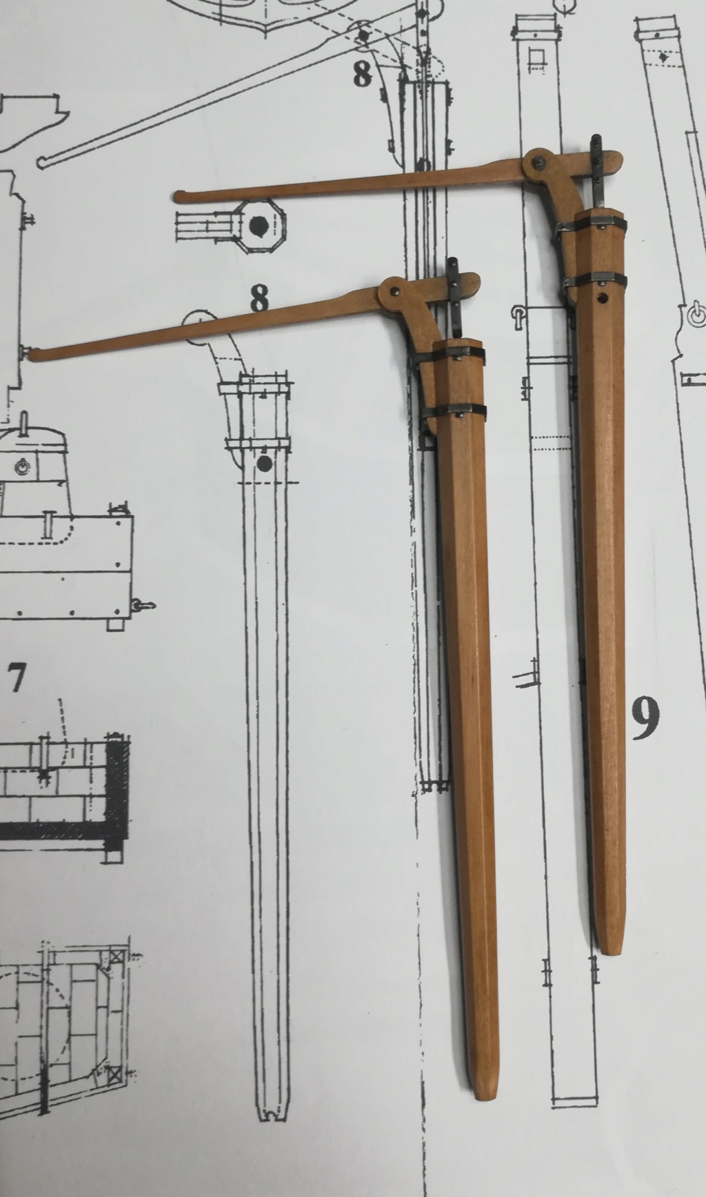 La Belle 1684 scala 1/24  piani ANCRE cantiere di grisuzone  - Pagina 8 Rimg_275