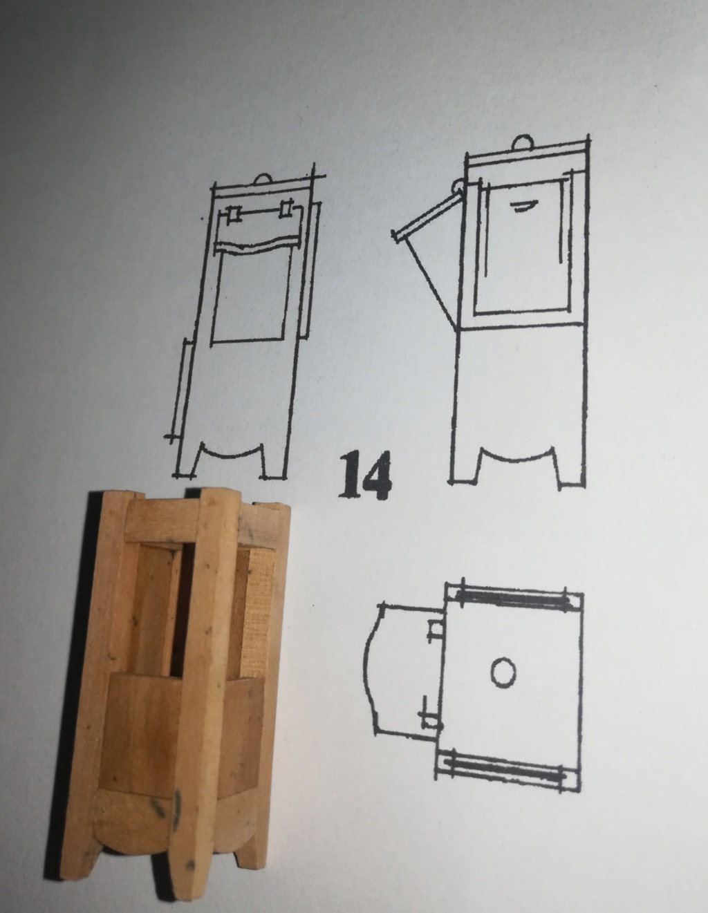 piani - La Belle 1684 scala 1/24  piani ANCRE cantiere di grisuzone  - Pagina 9 Rimg_289