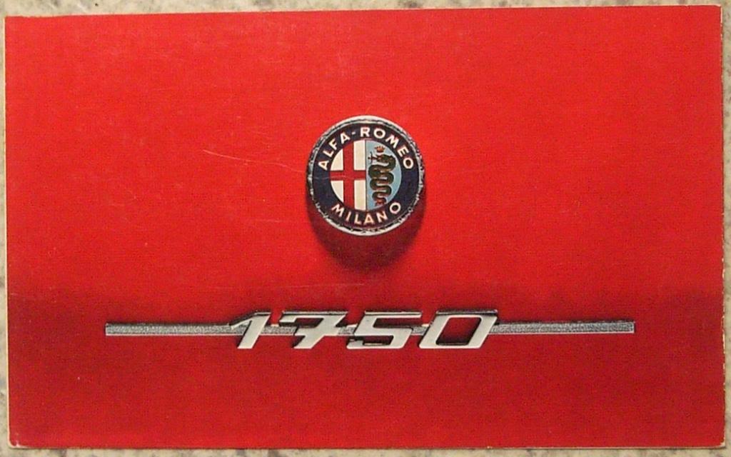 Spider véloce 1750 détails R0150512