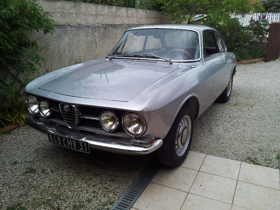 Présentation Alfa Bertone 1750 serie 1 Roule10