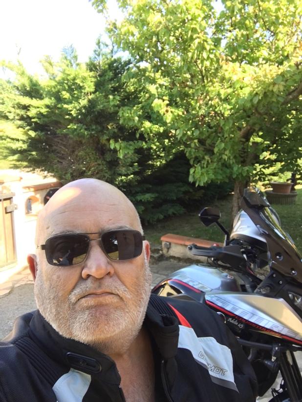 Blouson d'été moto et Pantalon marque Germot pour cause de tailles.... Img_3823