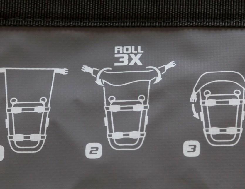 Suite complément bagagerie de la grosse nippone  Sacoche SW- Motech Dry By 80 Sw-mot10
