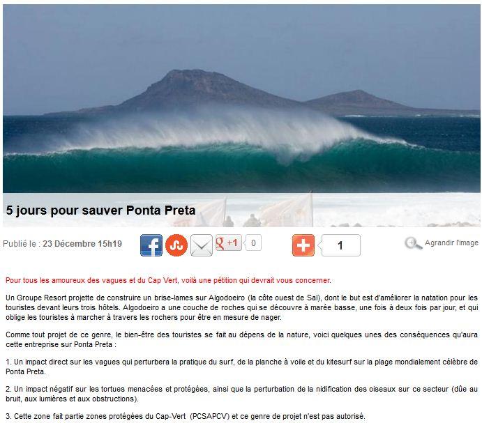 5 jours pour sauver Ponta Preta Ponta10