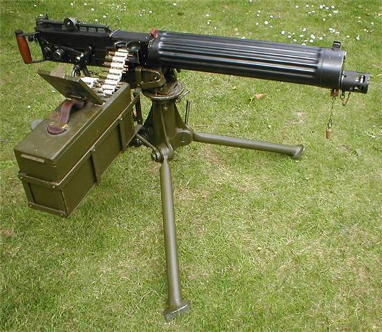 Mitrailleuse Vickers MKI Imvick10
