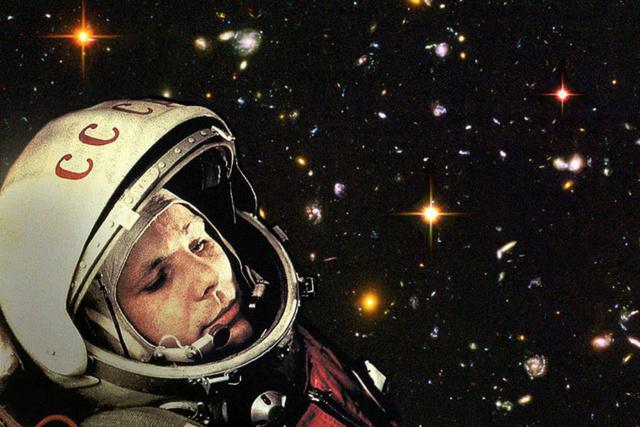 Le 12 avril 1961,Youri Gagarine devenait le premier homme à voyager dans l'espace 1214