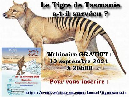 Le Tigre de Tasmanie a-t-il survécu jusqu'à nos jours ? (conference gratuite le 13/09 a 20h) 1afd7210