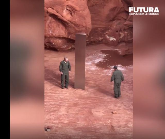 Quel est cet étrange monolithe découvert dans l'Utah ? 2110