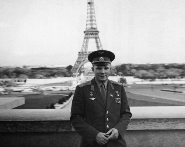 Le 12 avril 1961,Youri Gagarine devenait le premier homme à voyager dans l'espace 214