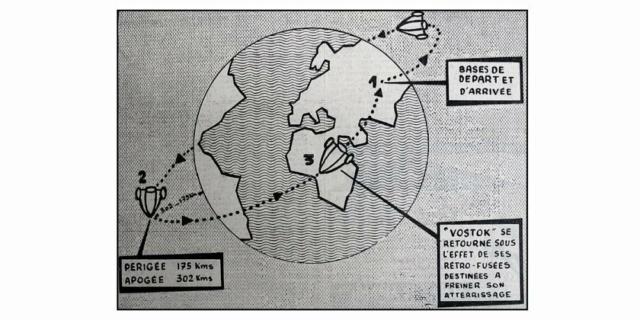 Le 12 avril 1961,Youri Gagarine devenait le premier homme à voyager dans l'espace 314