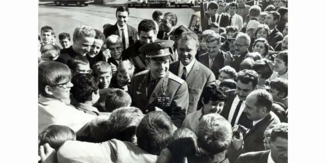 Le 12 avril 1961,Youri Gagarine devenait le premier homme à voyager dans l'espace 514