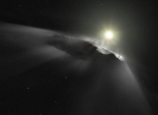 Oumuamua n'était probablement pas un OVNI 60520110