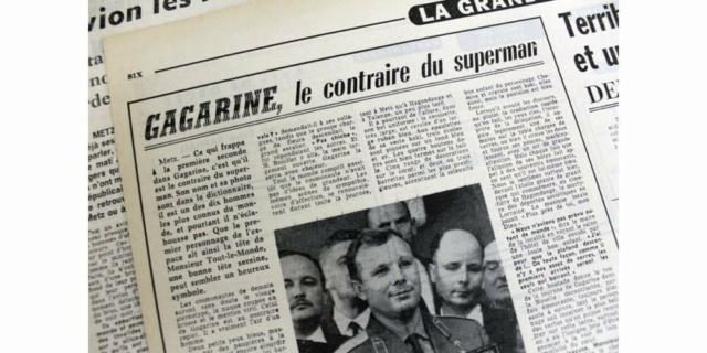 Le 12 avril 1961,Youri Gagarine devenait le premier homme à voyager dans l'espace 614