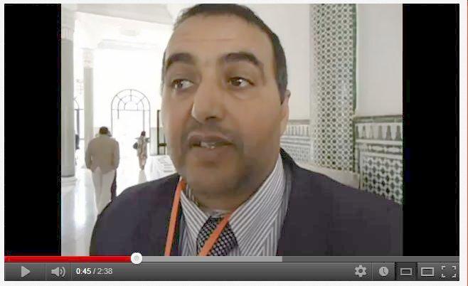 خالد العيوض: الديمقراطية التشاركية  رهان لإدماج الفئات  الهشة Khalid13