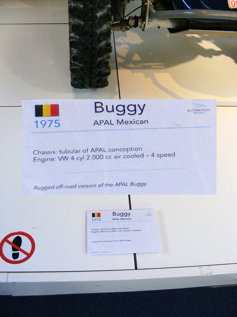 Autoworld - 50 Years Buggy, a Belgian Story ! Dscf7347