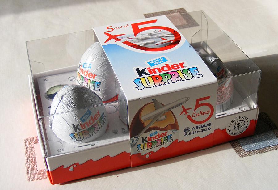 Kinder : qui vole un œuf, vole un Airbus… Kinder57