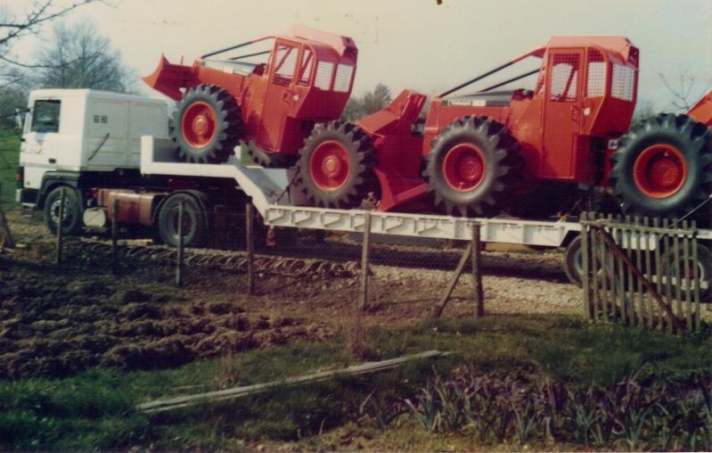 Transports de tracteurs forestier 04-02-62