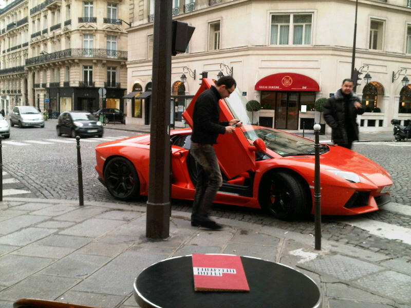 en mode AVENTADOR sur Paris ! Paris-10