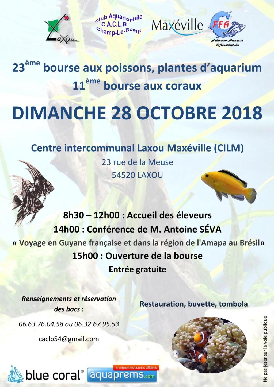 Bourse Champ le Boeuf (Laxou) 28 octobre 2018 Affich15