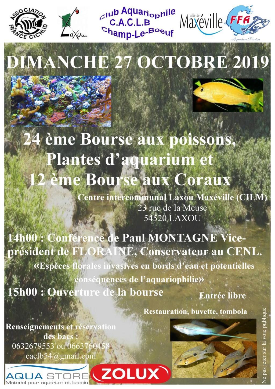 Bourse Champ le Boeuf (Laxou) 27 octobre 2019  Affich24